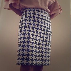 Banana Republic black and white skirt